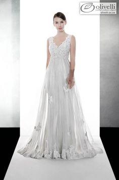 SA2591B - Wedding Dresses - Lusan Mandongus | Olivelli Elegant Wedding & Evening Dress Boutique