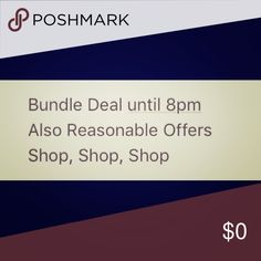 Bundle Deal- Reasonable Offers Bundle Deal- Reasonable Offers Other