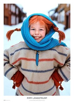 Series - Pippi Longstocking We loved these things as children! Series - Pippi Longstocking We loved these things as children!BALL BUTTONS - knitting # knitting # knitting diagrams # knitwear for beginners # . Pippi Longstocking, Mila Superstar, Funny Movies, Drops Design, Series Movies, Periwinkle, Childhood Memories, Knitwear, Actors