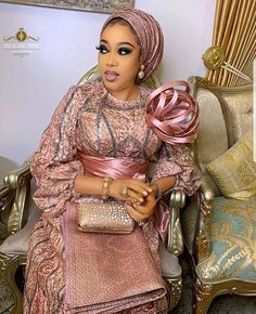 Every woman needs to look good in her everyday dressing. That's why we bring to you these lovely Asoebi styles. African Lace Styles, African Lace Dresses, Latest African Fashion Dresses, African Print Fashion, African Prints, Ankara Styles, African Wedding Attire, African Attire, African Wear