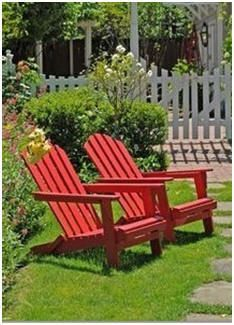 DIY Adirondack chair, lounge, rocker, table and glider plans. Check out this list of some of the best free plans and building guides.