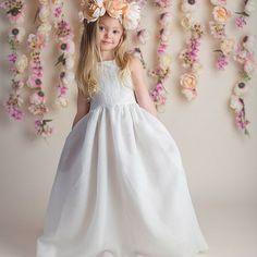 Blumenmädchen Kleid Blumenmädchen Kleider Baby von CountryCoutureCo