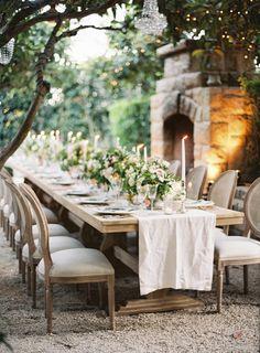 Intimate Summer Wedding at San Ysidro Ranch Wedding Decor, Wedding Table Decorations, Wedding Chairs, Mod Wedding, Decoration Table, Chic Wedding, Garden Wedding, Summer Wedding, Wedding Reception
