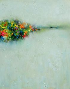 "Saatchi Online Artist: Yangyang pan; Oil, 2011, Painting ""Abstract Landscape #20"""