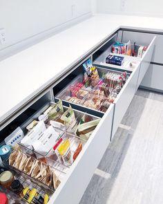 Kitchen Pantry, New Kitchen, Kitchen Storage, Kitchen Ideas, Kitchen Decor, Pantry Closet, Pantry Cabinets, Pantry Storage, Kitchen Inspiration