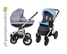 Wykonany z najlepszych materiałów wózek dla dziecka Danny Sport Baby Boat dostępny w wersji 2w1 lub 3w1.
