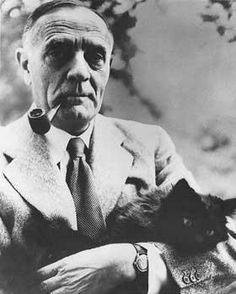 #CelebCats#FamousCats|#Edwin Hubble, astronomer and cat lover.