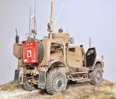 M-ATV PRT Afganistan Panda - [M]Galerie - Modelarstwo plastikowe - Modelwork Plastic Model Kits, Plastic Models, Oshkosh Defense, Rc Rock Crawler, Hawkgirl, Military Modelling, Army Vehicles, Military Diorama, Tamiya