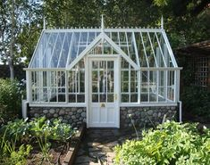 Private Garden builds Greenhouses, Victorian Glasshouses, Conservatories, Kiosks and Garden Centers - A Victorian Glasshouse from Private Garden Greenhouse Systems #2