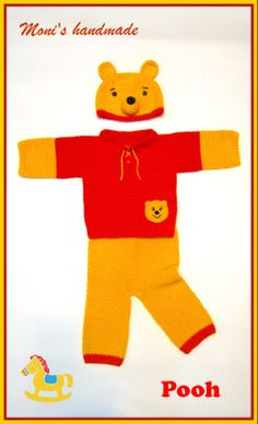 winnie the pooh crochet outfit