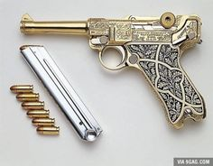 How's that for gergeous? Luger P-08