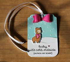 Stacey's Creative Corner: Card Harmony --- Gift Tags with Lawn Fawn & Mama Elephant