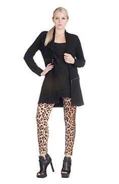 fe666f9c592 Eva Varro Womens Barcelona Long Jacket XSmall Black Pebbles >>> You can  find more