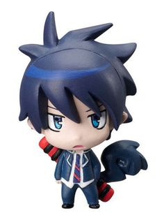 Megahouse Blue Exorcist Ao no Plus Chara Fortune Mascot Figure Figurine Rin