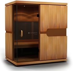 The mPulse Conquer is a full-spectrum infrared home sauna for three to four people that features Solocarbon heating technology, available exclusively from Sunlighten Saunas, Infrared Sauna Benefits, Floor Heater, Relaxation Response, Spa, Spectrum, The Help, Tall Cabinet Storage, This Or That Questions