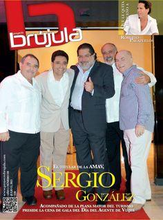 Les presentamos la portada de nuestra revista del 11 de julio de 2013. Sergio González en la cena de gala del Día del Agente de Viajes + 7 pecados de Dulce María Sauri + Cirque Dreams + Trotamundos y mucho más.