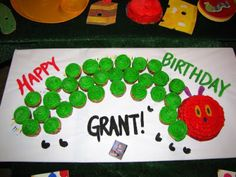 GreyGrey Designs: {My Parties} Grant's Very Hungry Caterpillar 1st Birthday Party!
