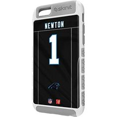 NFL Carolina Panthers iPhone 6s Plus Cargo Case - Cam Newton Carolina Panthers Cargo Case For Your iPhone 6s Plus. Built To Last - Tough iPhone 6s Plus Cargo Case Made With A Double Layer Hard Shell & Rubber Liner Protection. Offically Licensed Carolina Panthers Case Design. Industry Leading Vivid Color Vinyl Print Technology. Textured Sidewalls - For Added Comfort & Enhanced iPhone 6s Plus Grip. Precision iPhone 6s Plus Fit - Increasing Protection Without Sacrificing Function.
