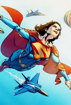 Superwoman - Phil Jimenez, Colors: Steve Downer