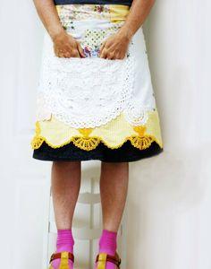 dottie angel inspired apron