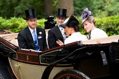 Meghan Markle Makes Her Royal Ascot Debut — in a Carriage Fit for a Princess!
