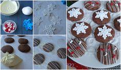 Galletas de Nocilla  con sólo tres ingredientes... Disfrazadas de Navidad