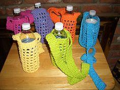 Ravelry: Kathy's Water Bottle Carrier Pattern pattern by Kathy Bartholomew