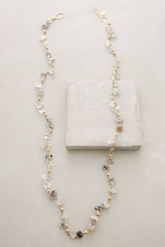 at anthropologie Byzas Necklace - Rutilated Quartz