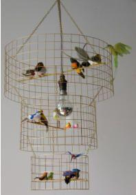 Bird Cage lamp from Vintage Lighting Ltd