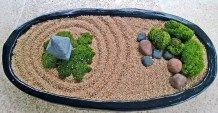 Beautiful Mini Zen Garden Design Ideas To Beautify Your Home25