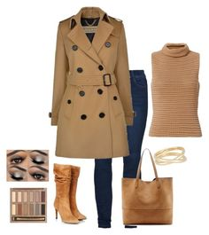"""""""Untitled #78"""" by renadagreer on Polyvore featuring Exclusive for Intermix, Burberry, Sole Society, Maison Margiela, Gestuz and Urban Decay"""