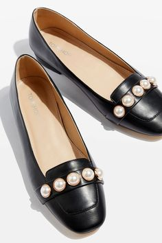 ANNETTE Pearl Detail Shoes