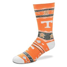 quality design fd378 1902b For Bare Feet NCAA Ugly Christmas Holiday Socks-Tennessee.