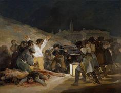 """Goya en El Prado: El 3 de mayo de 1808 en Madrid, o """"Los fusilamientos"""""""