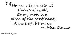 #poetry #quote John Donne
