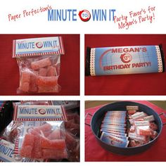 Prizes for minute to win it games
