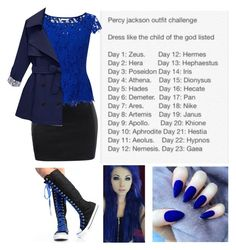 """""""Percy Jackson Outfit Challenge - Day 2 - Poseidon"""" by bubble-loves-you ❤ liked on Polyvore featuring Jacques Vert"""