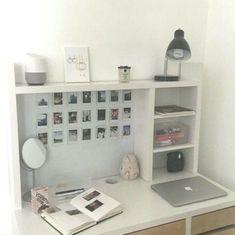 43 Ideen Büro Dekor für Cubicle Professional Must Popular 2019 Study Room Decor, Cute Room Decor, Teen Room Decor, Room Ideas Bedroom, Home Office Decor, Bedroom Decor, Ikea Room Ideas, Tumblr Room Decor, Tumblr Rooms