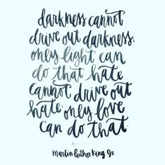 When we fight for peace and love, we must try not to do it in counterproductive ways.  Be the light. Not the new kind of darkness. #Matthew514