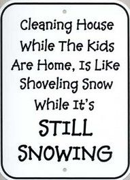 This is so true, but when I'm home, it's a problem too!  Ha ha!!