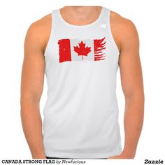CANADA STRONG FLAG TEE SHIRT
