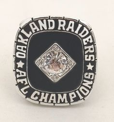 Oakland Raiders 1967 NFL Championship Ring