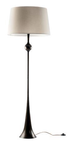 Dover Floor Lamp  Traditional, Rustic  Folk, MidCentury  Modern, Metal, Floor Lamp by Nicky Dobree