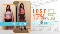 """Mother of five loses 17% of total body weight, gains control of her lifestyle** As a mother of five kids, Shelly Alemi has always put her family first. So much so that at one point, she putherself last. """"I realized I gotlost in the whole mommy stage in life and took care of everybody in …"""