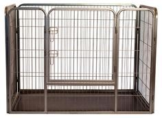 The Paws Mahal - Heavy Duty Rectangle Tube-Style Pet Playpen Training Crate Kennel, $119.99 (http://www.thepawsmahal.com/heavy-duty-rectangle-tube-style-pet-playpen-training-crate-kennel/)