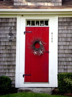 Cape Cod, want to paint guest house door this color