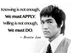 Discover and share Bruce Lee Quotes On Training. Explore our collection of motivational and famous quotes by authors you know and love. Wise Quotes, Famous Quotes, Great Quotes, Quotes To Live By, Motivational Quotes, Inspirational Quotes, Brainy Quotes, Short Quotes, Top Quotes
