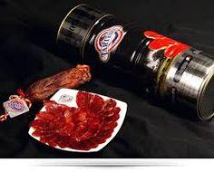 Cured loin of fodder fed Iberian pork (Lomo embuchado) Tartessos Sauce Bottle, Acorn, Tart, Steak, The Cure, Shops, Food, Products, Self