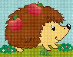 Cross Stitch | Hedgehog xstitch Chart | Design