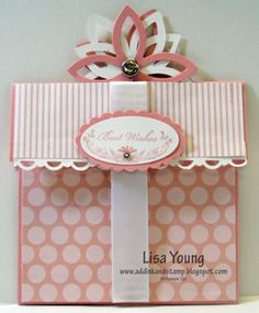 Gift Card Holder for the Bride